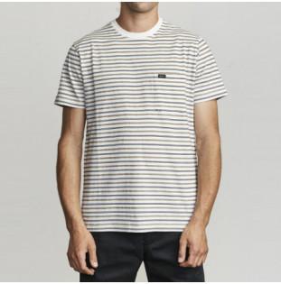 Camiseta RVCA: RUNAWAY SS (ANTIQUE WHITE)
