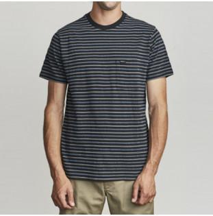 Camiseta RVCA: RUNAWAY SS (BLACK)