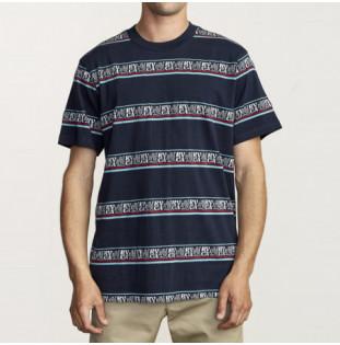 Camiseta RVCA: CAIRO SS CREW (MOODY BLUE)