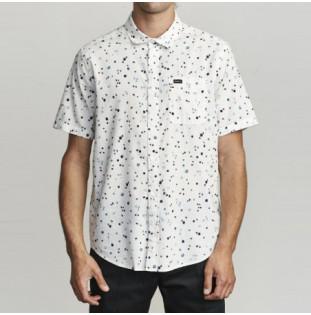 Camisa RVCA: CALICO SS (ANTIQUE WHITE)