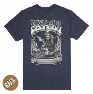 Camiseta RVCA: MONKEY SS (MOODY BLUE) RVCA - 1