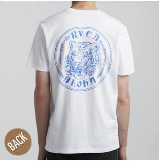 Camiseta RVCA: ALOHATIGER SS (WHITE)