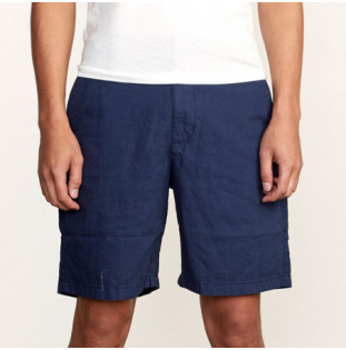 Bermuda RVCA: CRUSHED WALKSHORT (MOODY BLUE) RVCA - 1