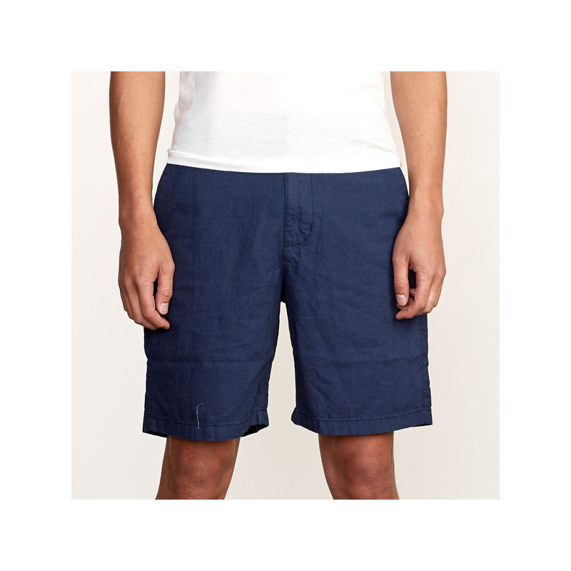 Bermuda RVCA: CRUSHED WALKSHORT (MOODY BLUE)