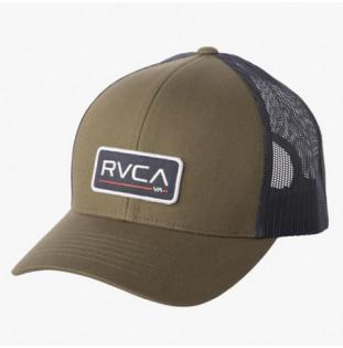 Gorra RVCA: TICKET TRUCKER III (OLIVE)