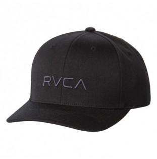 Gorra RVCA: RVCA FLEX FIT (BLACK)