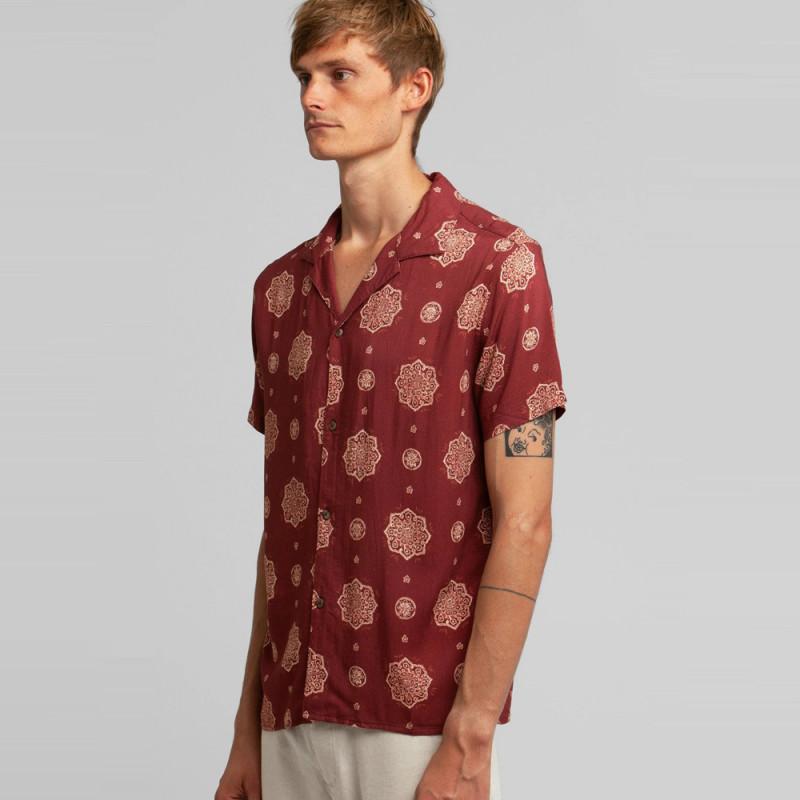 Camisa Rhythm: SUNDALA SS SHIRT (Henna)