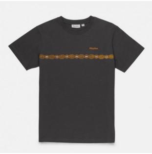 Camiseta Rhythm: CONGO STRIPE TSHIRT (Charcoal) Rhythm - 1