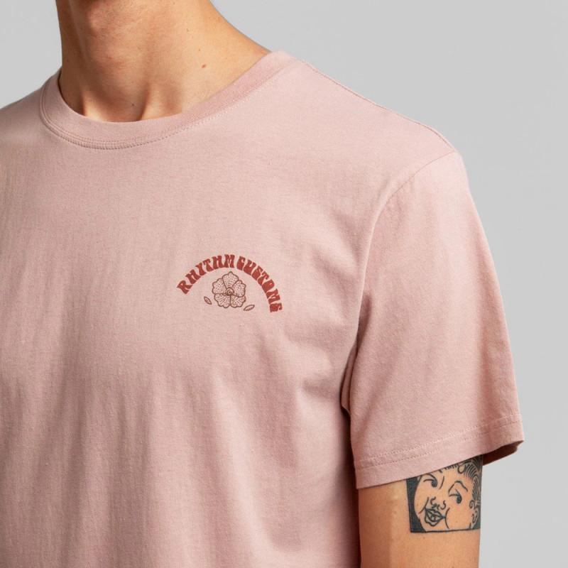 Camiseta Rhythm: DESERT FLOWER TSHIRT (Desert rose)