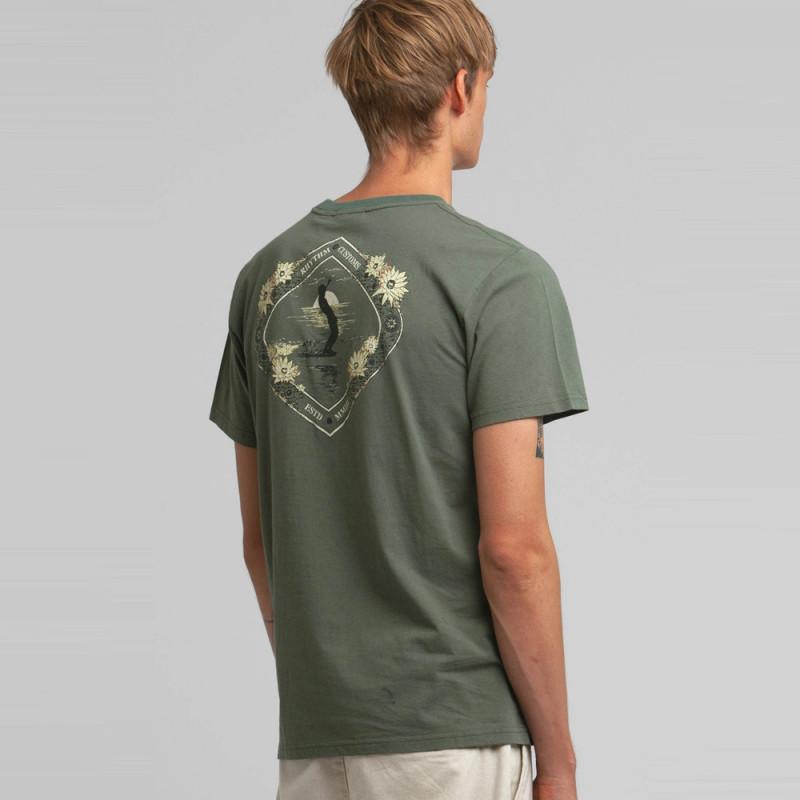 Camiseta Rhythm: GLIDE TSHIRT (Agave)