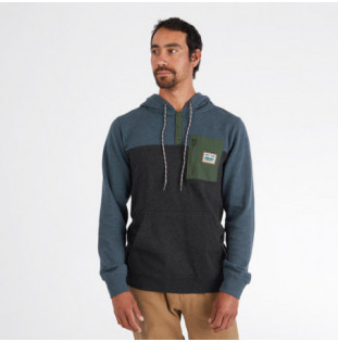 Sudadera Hippytree: Chattanooga Hoody (Heather Forest) Hippytree - 1