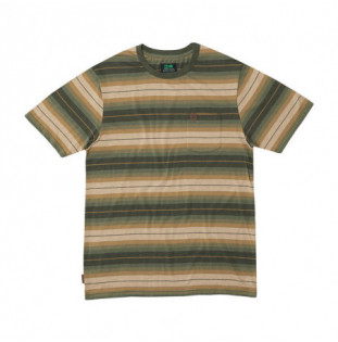 Camiseta Hippytree: Cold Creek Knit Tee (Heather Army)