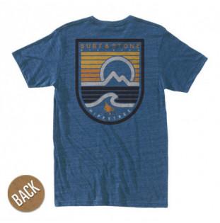 Camiseta Hippytree: Seastripe Tee (Heather Navy)