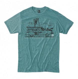 Camiseta Hippytree: Ansel Tee (Heather Teal) Hippytree - 1