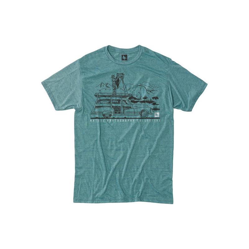 Camiseta Hippytree: Ansel Tee (Heather Teal)