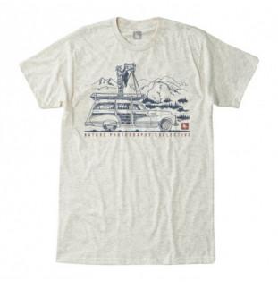 Camiseta Hippytree: Ansel Tee (Heather Natural) Hippytree - 1