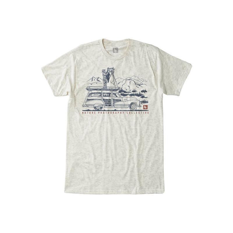 Camiseta Hippytree: Ansel Tee (Heather Natural)