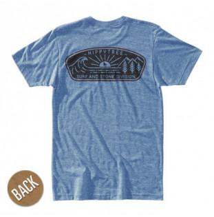 Camiseta Hippytree: Daybreak Tee (Heather Light Blue)