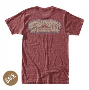 Camiseta Hippytree: Daybreak Tee (Heather Rust)