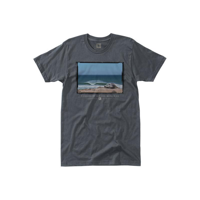 Camiseta Hippytree: Trekker Tee (Charcoal)