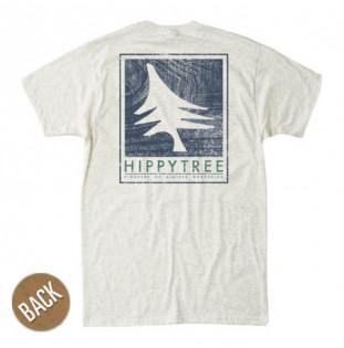 Camiseta Hippytree: Woodgrain Tee (Heather Natural)