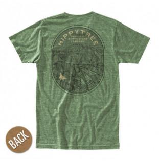 Camiseta Hippytree: Geology Tee (Heather Army)