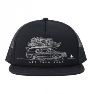 Gorra Hippytree: Wagon Hat (Black) Hippytree - 1