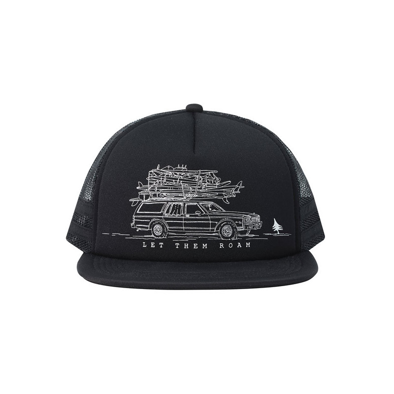 Gorra Hippytree: Wagon Hat (Black)