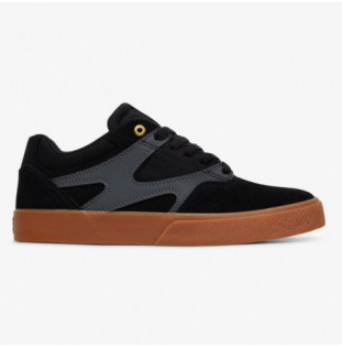 Zapatillas DC Shoes: KALIS VULC (BLACK GREY)