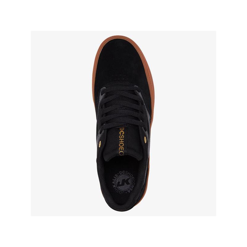 Zapatillas DC Shoes: KALIS VULC (BLACK GREY)
