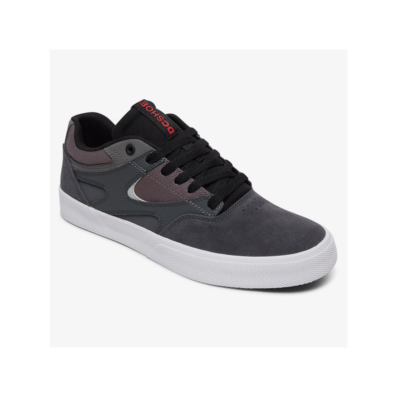 Zapatillas DC Shoes: KALIS VULC (GREY BLACK RED)