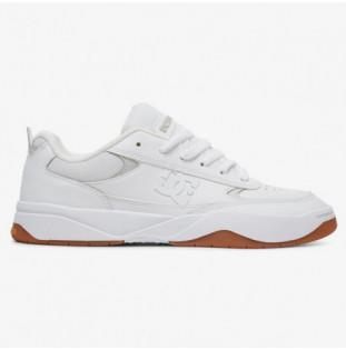 Zapatillas DC Shoes: PENZA (WHITE WHITE GUM)