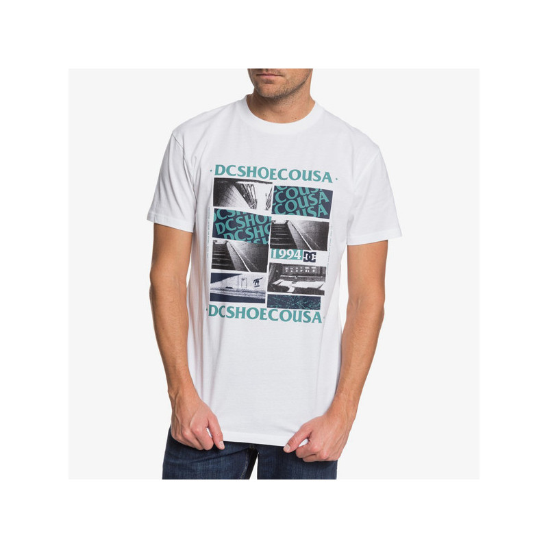 Camiseta DC Shoes: UNDER EMPIRE SS (WHITE)