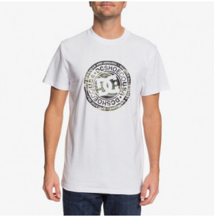 Camiseta DC Shoes: CIRCLE STAR SS (SNOW WHITE CAMO)