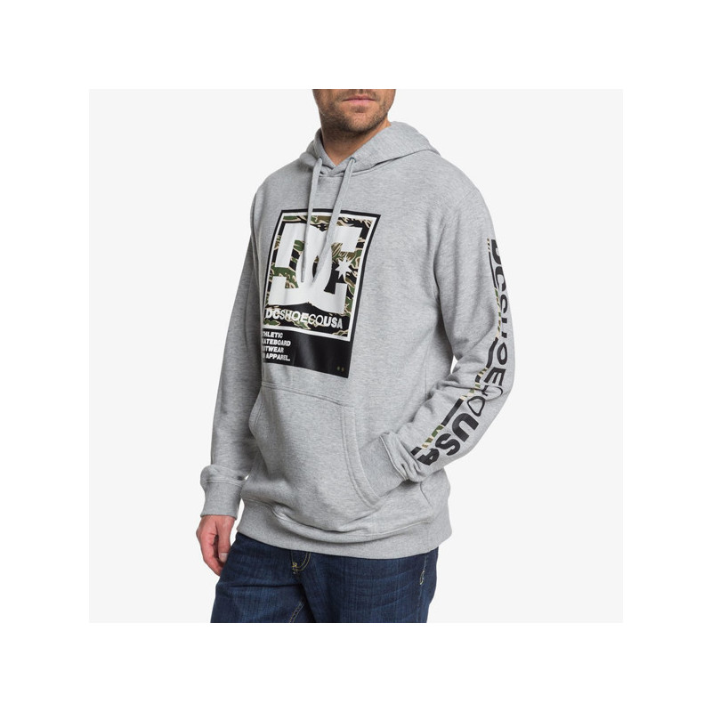 Sudadera DC Shoes: ARAKANA PH (GREY HEATHER)