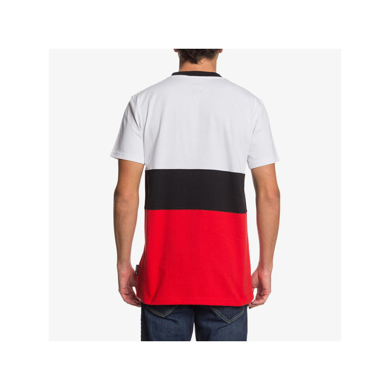 Camiseta DC Shoes: GLENFERRIE 3 SS (SNOW WHITE)