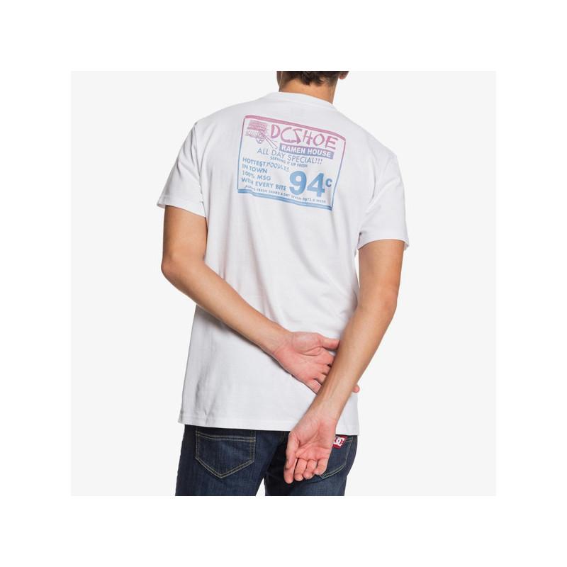 Camiseta DC Shoes: 100 PERCENT MSG (WHITE)