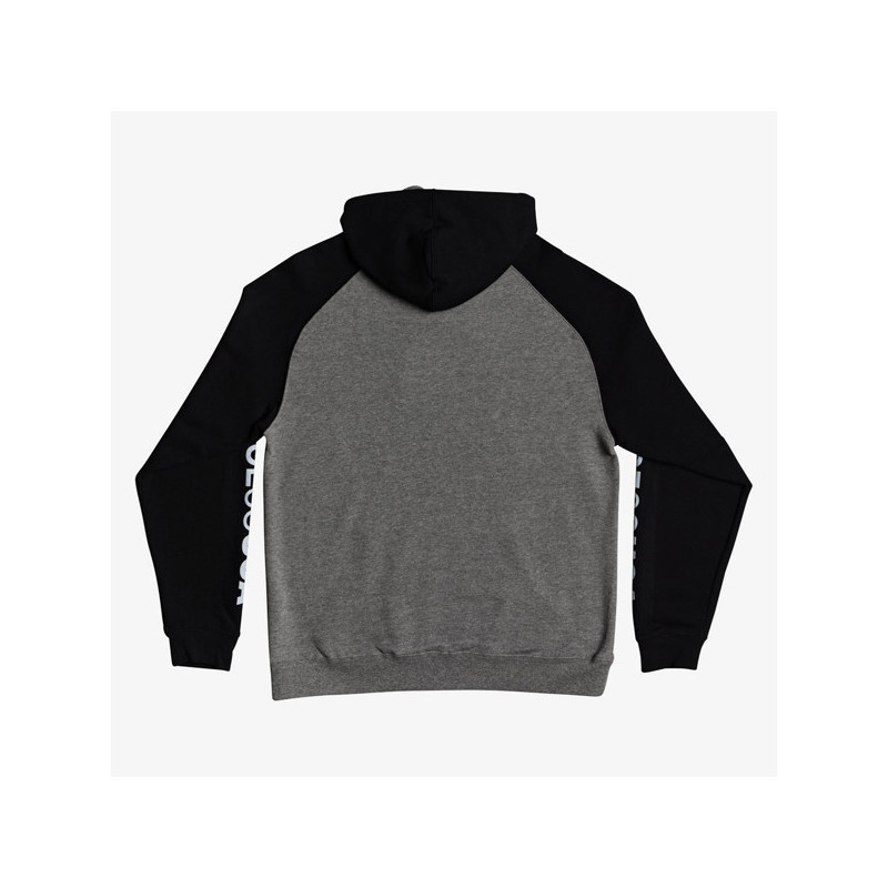 Sudadera DC Shoes: SK8 RAGLAN PH (GREY HEATHER)