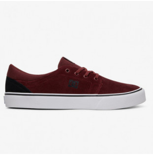Zapatillas DC Shoes: TRASE SD (BLACK DARK RED)