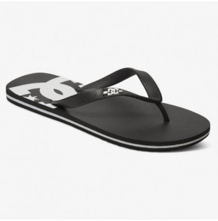 Chanclas DC Shoes: SPRAY (BLACK BLACK WHITE) DC Shoes - 1