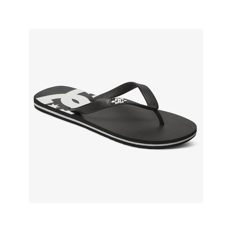 Chanclas DC Shoes: SPRAY (BLACK BLACK WHITE)