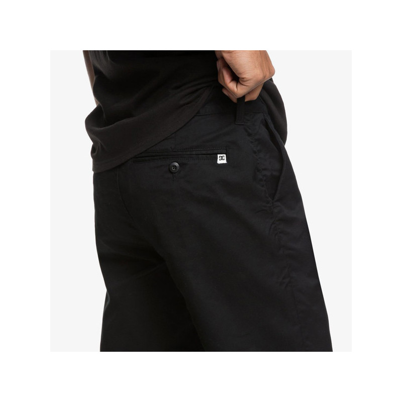 Bermuda DC Shoes: WORKER STRAIGHT (BLACK)