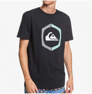 Camiseta Quiksilver: SURE THING SS (BLACK)