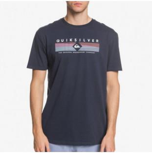 Camiseta Quiksilver: DISTANT FORTUNE (NAVY BLAZER) Quiksilver - 1