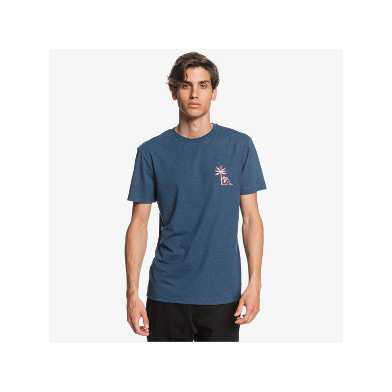 Camiseta Quiksilver: MORNING BIRD SS (MAJOLICA BLUE)