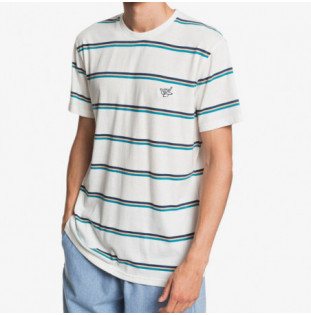Camiseta Quiksilver: COREKY MATE (SNOW WHITE S3 COREKY MATE)