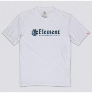 Camiseta Element: BORO SS (OPTIC WHITE)