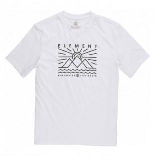 Camiseta Element: ODDIE SS (OPTIC WHITE)