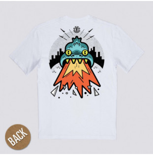 Camiseta Element: RICKAT SS (OPTIC WHITE)