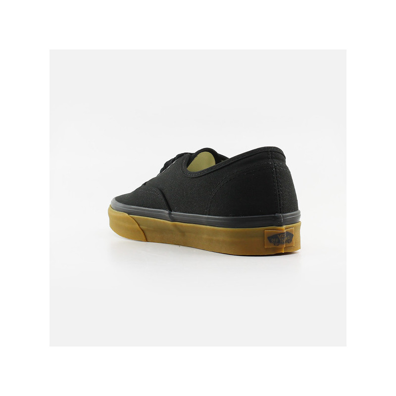 Zapatillas Vans: UA AUTHENTIC (BLACK GUM 12 OZ CANVAS)